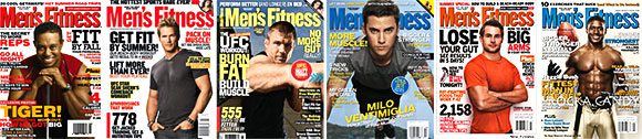 Jim has been published in these issues of Men's Fitness