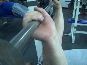 how-to-bench-do-not-flex-wrist