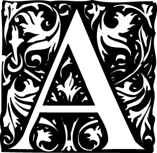 the letter a copy