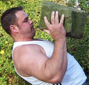 pressing a natural barn stone lifting fundamentals dvd