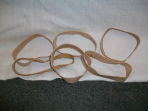 rubber band extrensions