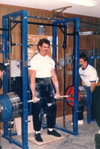 richard sorin diesel crew iron masters grip strength rack pull