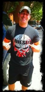 diesel crew tee shirt