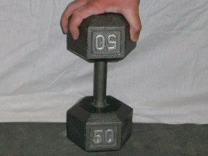 inverted dumbbell deadlift