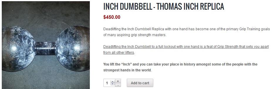 inch dumbbell