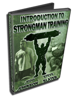 build strength strongman training information