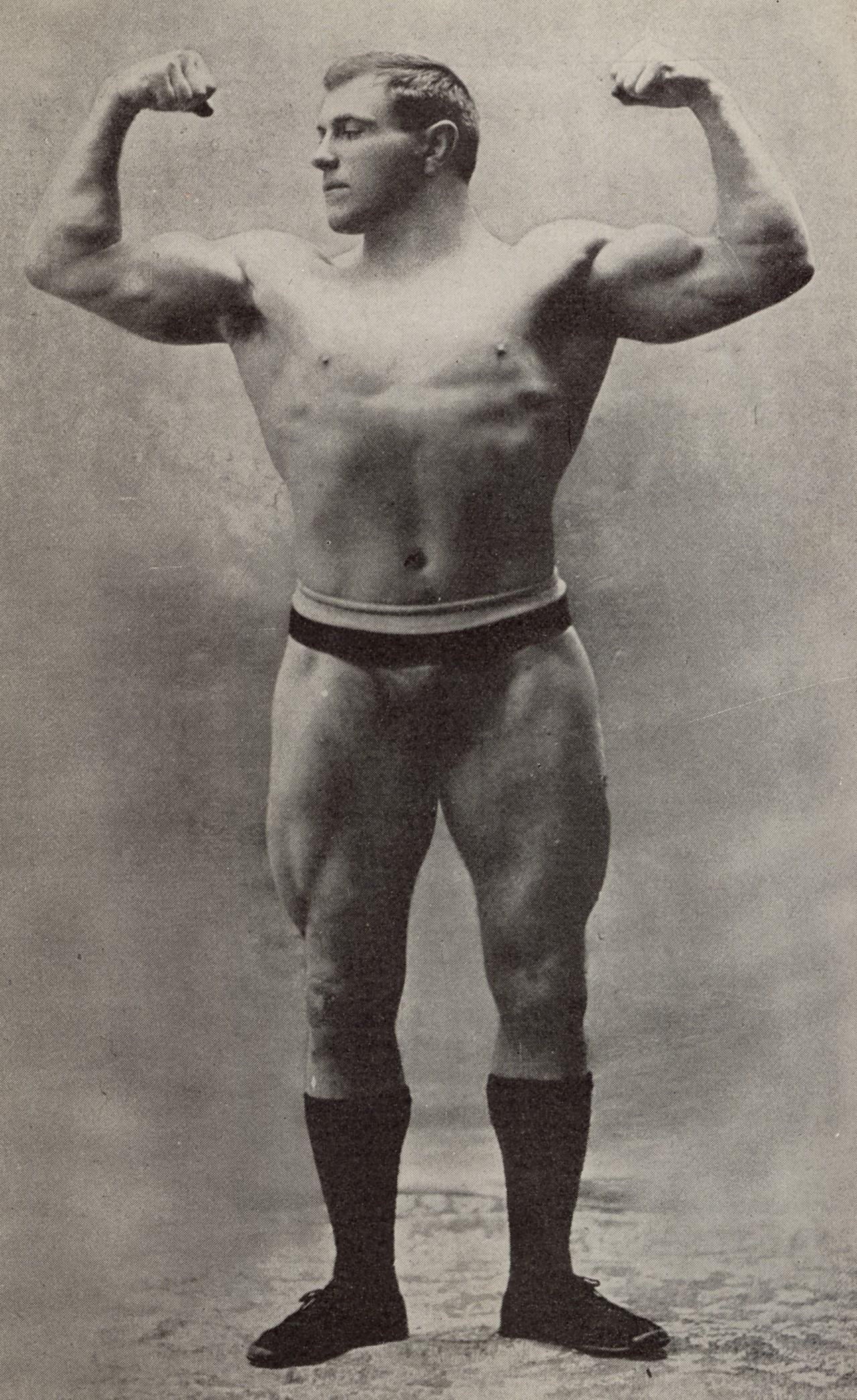 old strongman Hackenschmidt