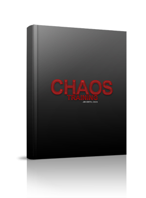 Chaos Training Manual, real strength training for athletes, faster, stronger, bigger athletic workouts