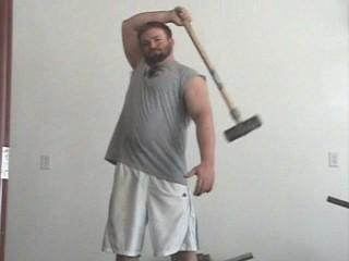 sledge hammer power cast