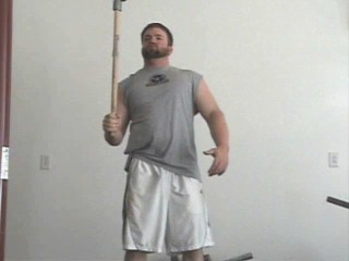 stopping the momentum of the hammer