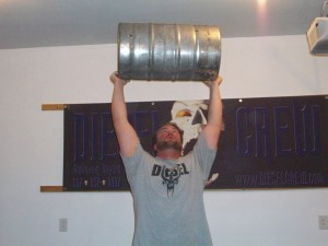 keg lifting training strongman strength